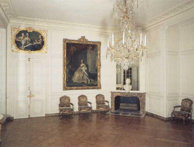 Appartement de mme de pompadour versailles grand cabinet angle sud est 1715 1774 sous - Residence grand siecle versailles ...