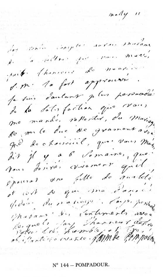 formule de politesse lettre 17eme siecle Madame de Pompadour formule de politesse lettre 17eme siecle